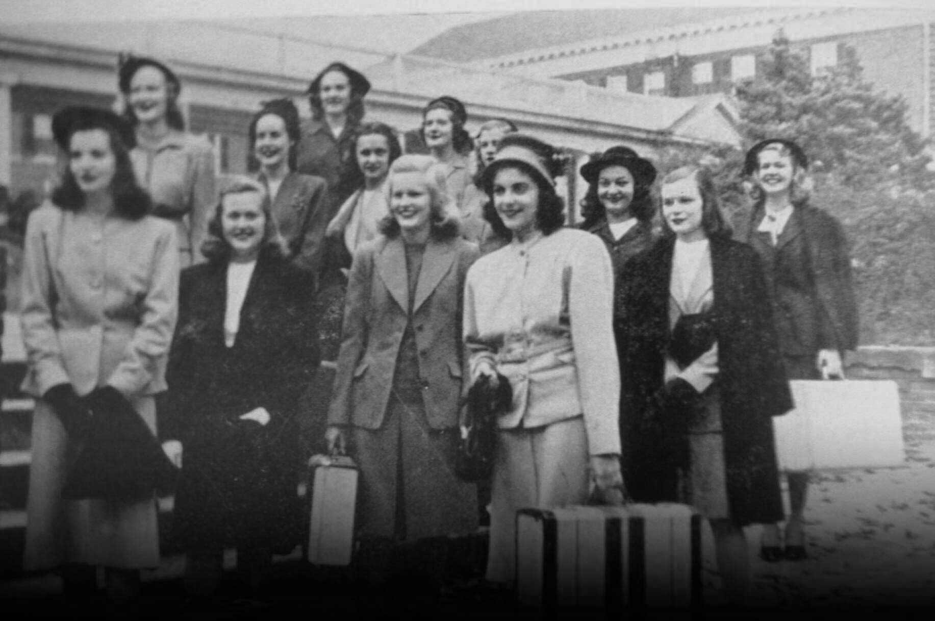 Class of 1946 arrives at State Teachers College at Farmville