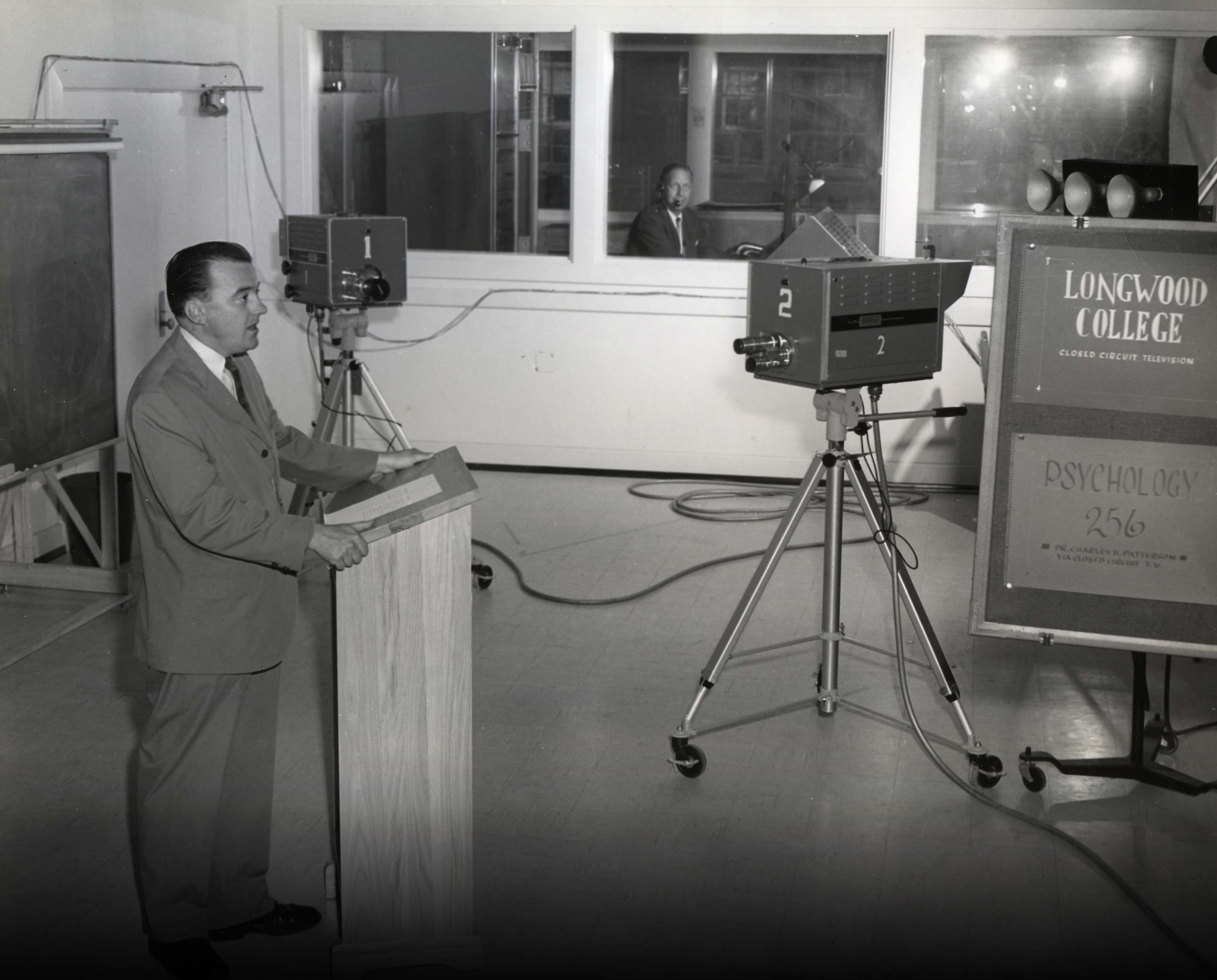 1952: Longwood is first college in VA to offer courses via CCTV